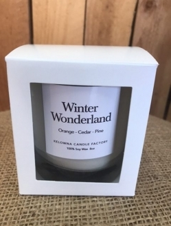 Holiday 8oz Candles in Gift Box