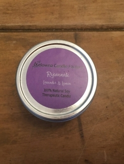 1.7 oz Beeswax Tin Rejuvinate Burns apprx 12hrs