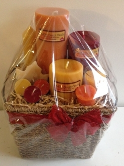Medium Gift Basket – You choose the colors (doesn't have to be red/orange) request in notes!