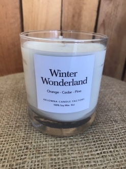 Holiday Collection 10oz Jar Candles in White Gift Box