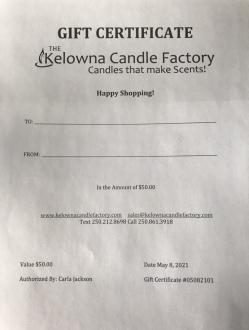 Gift Certificates (Digital)