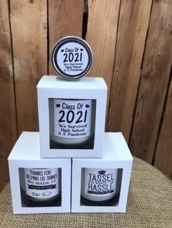 Grad 2021 Candles 🎓