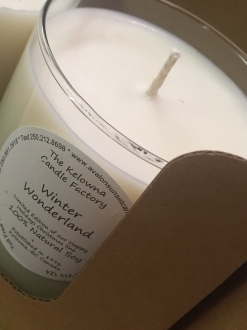 Winter Wonderland Soy Candle – Happy Holidays Ltd Edition Line:)