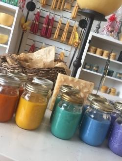Chakra Mason Jar Set of Soy Candles – 7 units (CMJS)