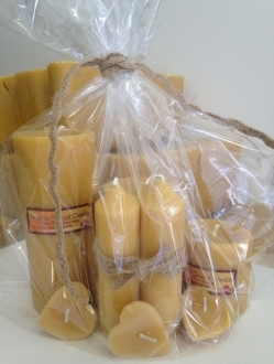 Beeswax Candle Set