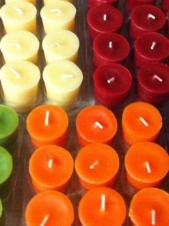 Beeswax 2″ Votive Candle Case – 24 units (V2)