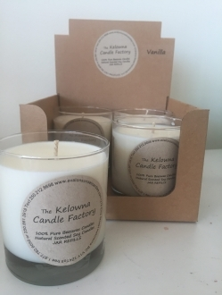 Soy Round Jar 8 ounce Candle Case – 4 units (SOYRJ)