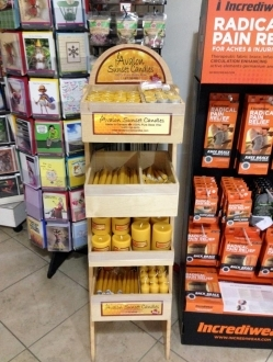 Slender Display with Full Product