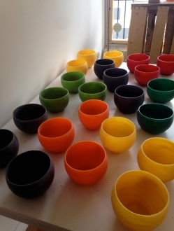 Beeswax Bowls (Globes) – 1 unit (BB)