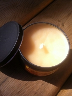 Outdoor Candle – Silver Tin only!