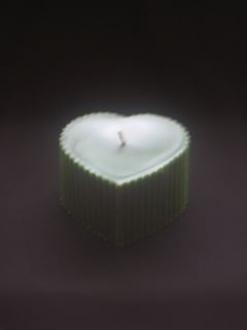 Beeswax 3″ x 4″ Heart Pillar Candle Case – 4 units (HP)